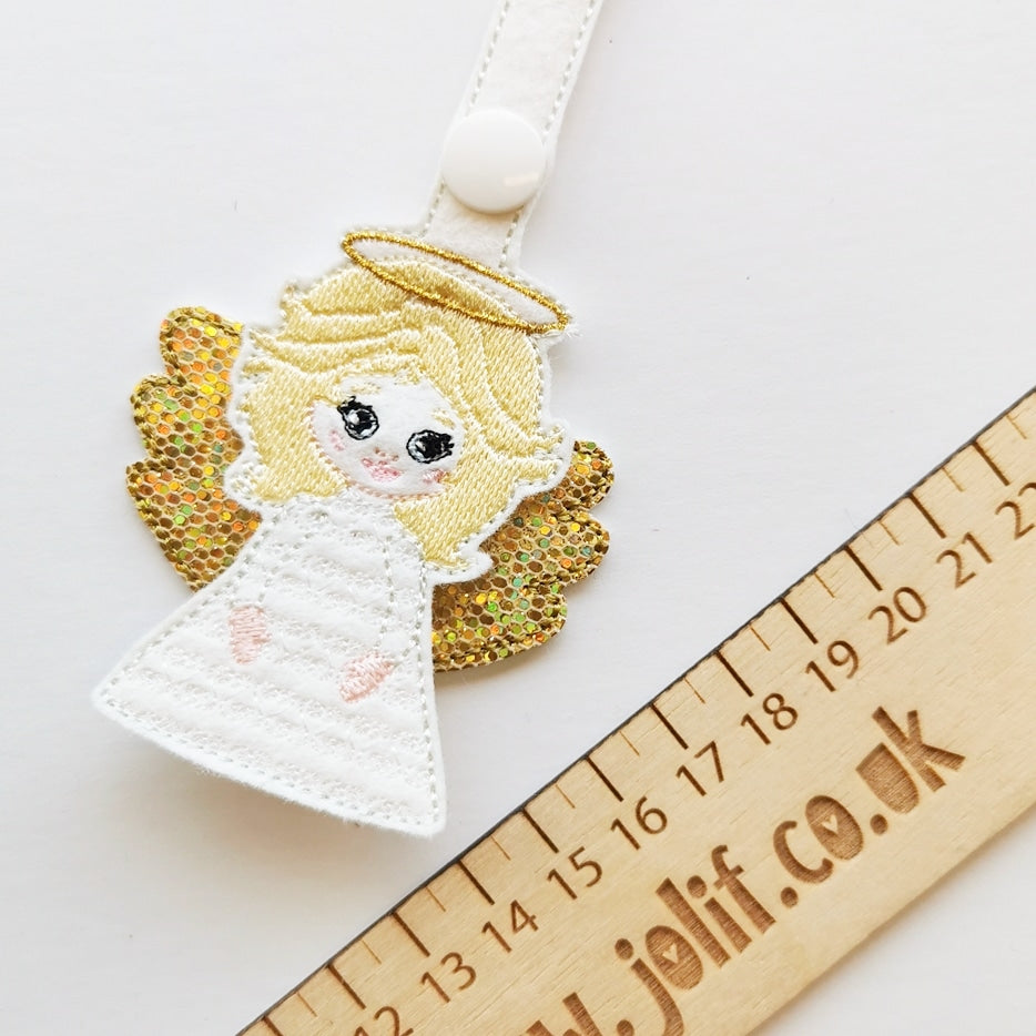 Angel Key Ring Charm