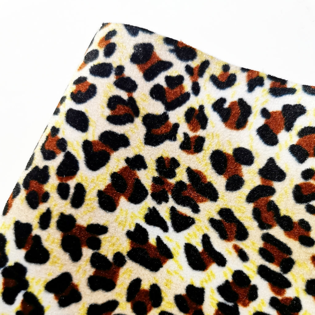 Animal Print Fabric Felt - Jolif The Craft Shop