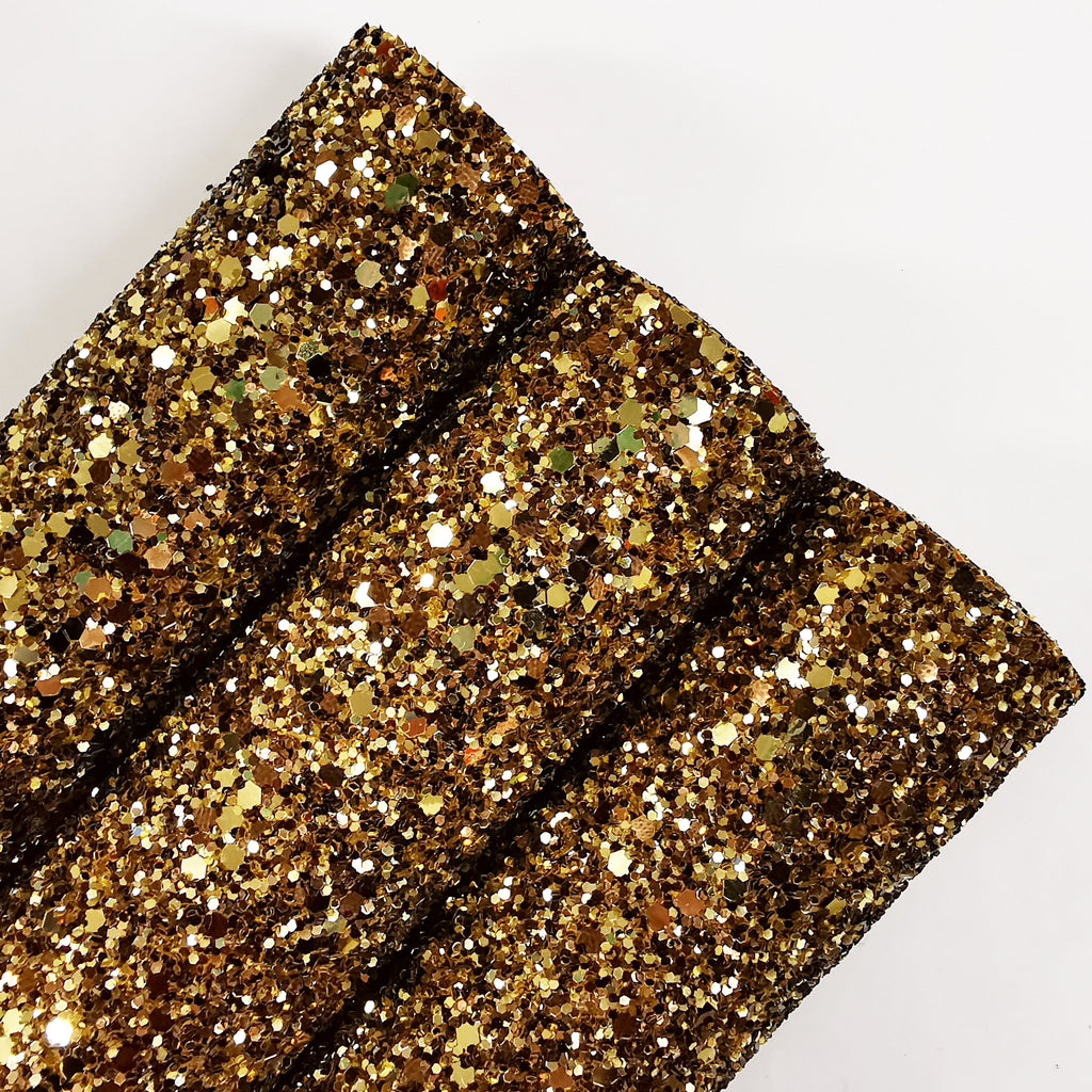 Dark Gold Chunky Glitter - Jolif The Craft Shop