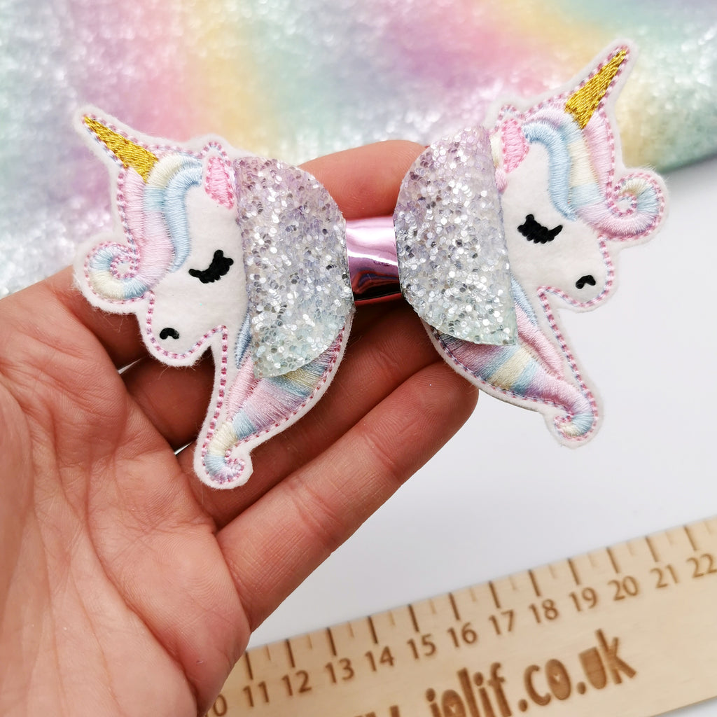 Embroidered Unicorn Tails - Jolif The Craft Shop