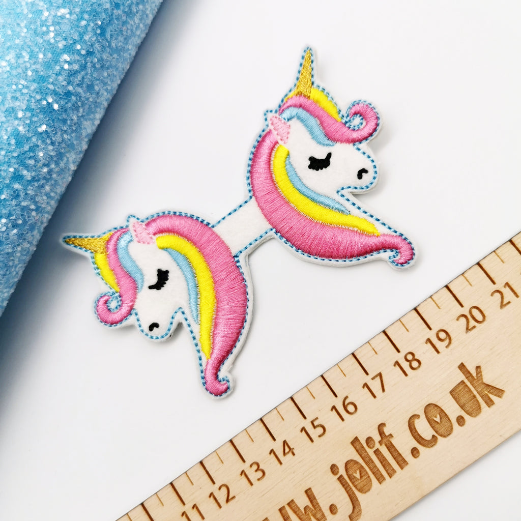 Embroidered Unicorn Tails