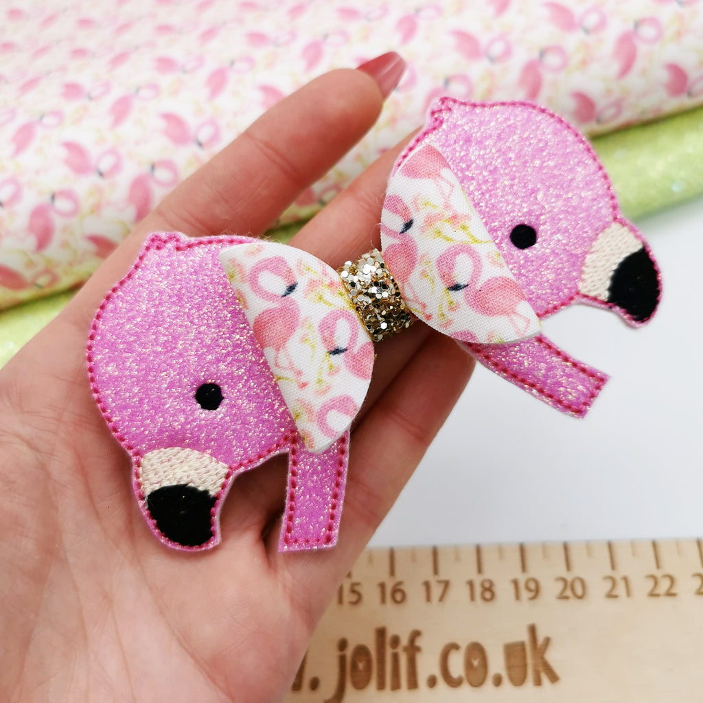 Flamingo Glitter Tails - Jolif The Craft Shop