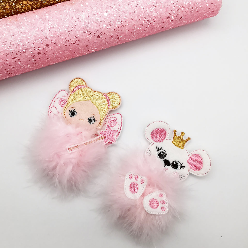 The Mouse Princess Fur Baby - Jolif The Craft Shop
