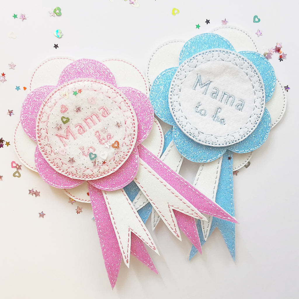Mama To Be Embroidered Badge - Jolif The Craft Shop