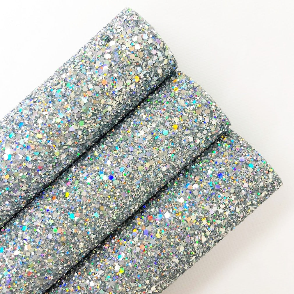 Rainbow Silver Chunky Glitter - Jolif The Craft Shop