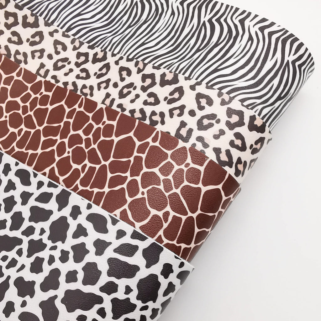 Classic Animal Print Artisan Leatherette - Jolif The Craft Shop