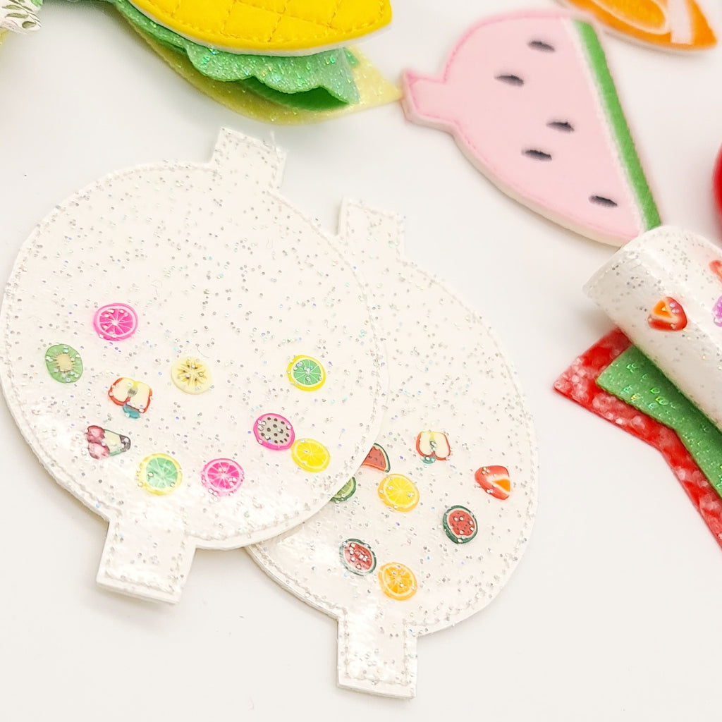 Fruity Shaker Dolly Bow Halves - Jolif The Craft Shop