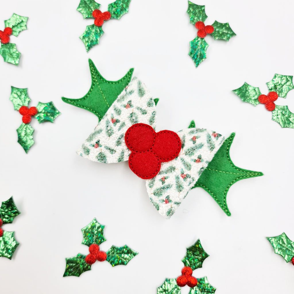 Oh Holly! Embroidered Tails - Jolif The Craft Shop