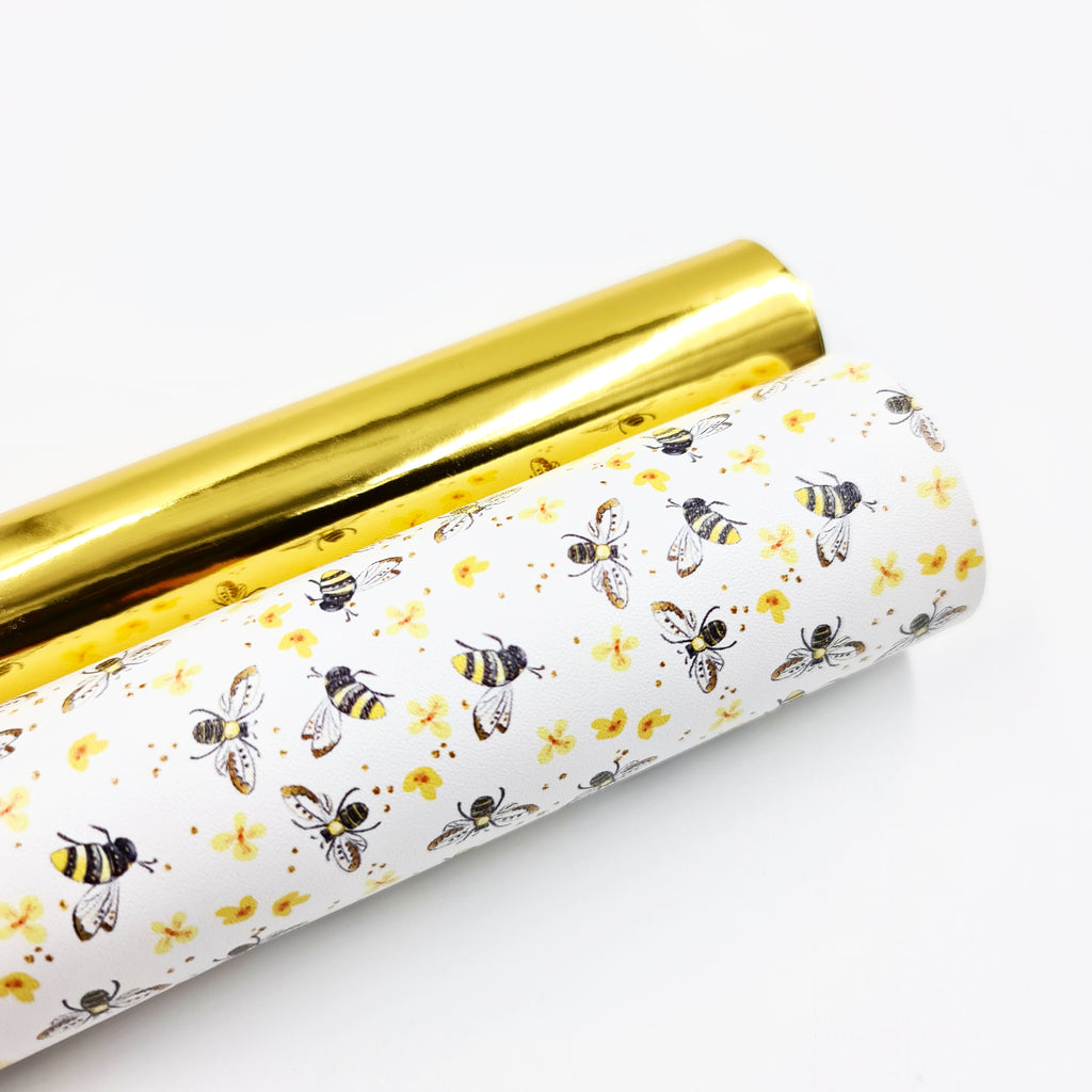 Honey Bee Artisan Leatherette - Jolif The Craft Shop