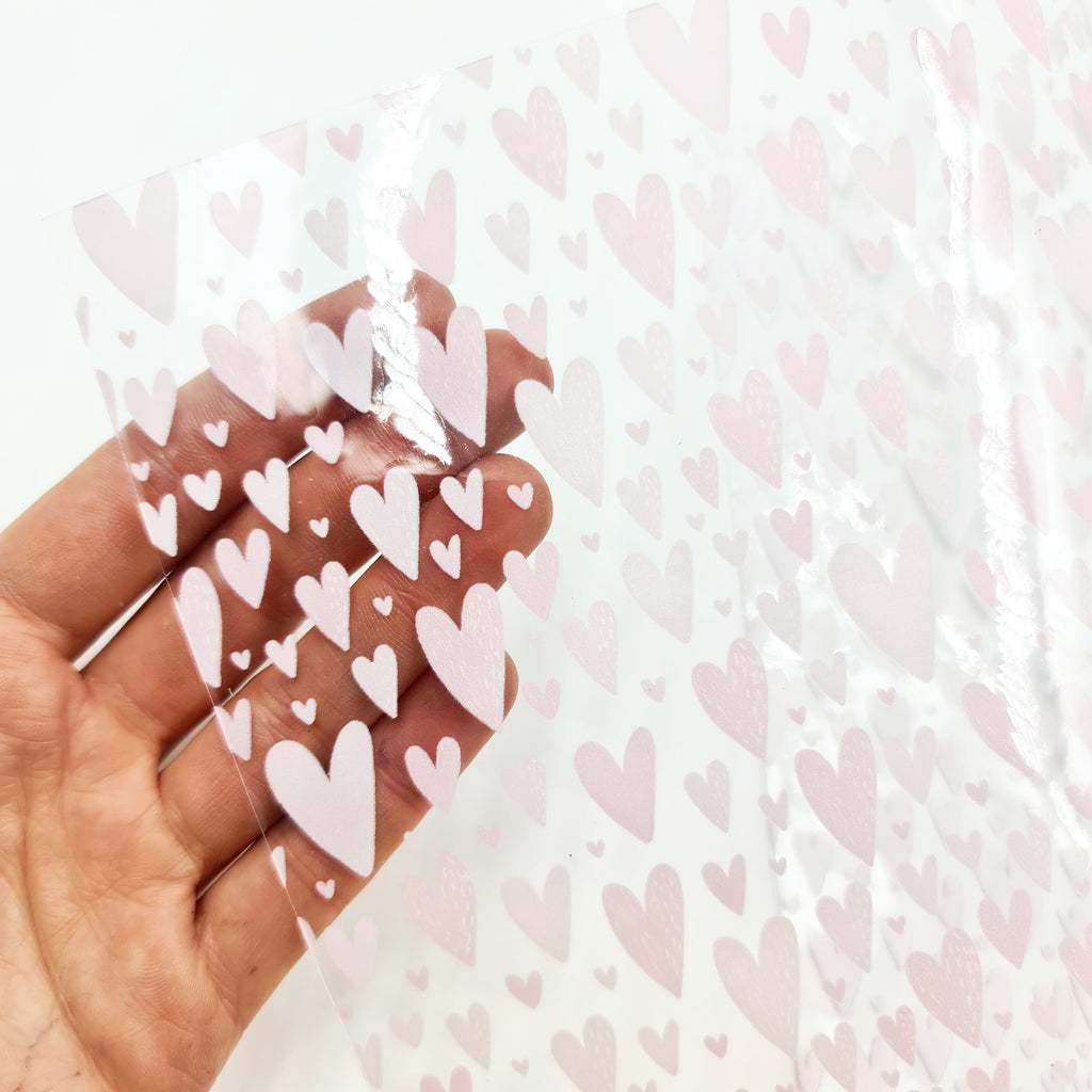 Oh Hearts! Transparent Vinyl - Jolif The Craft Shop