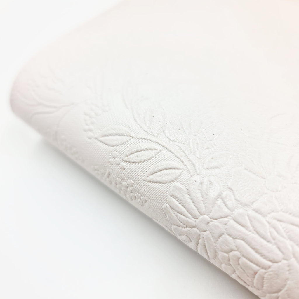 Fancy Embossed Metallic Leatherette - Jolif The Craft Shop