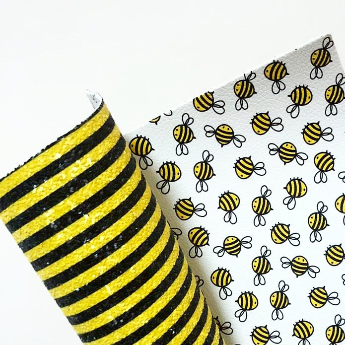 Bumble Bee Double Sided Chunky Glitter - Jolif The Craft Shop