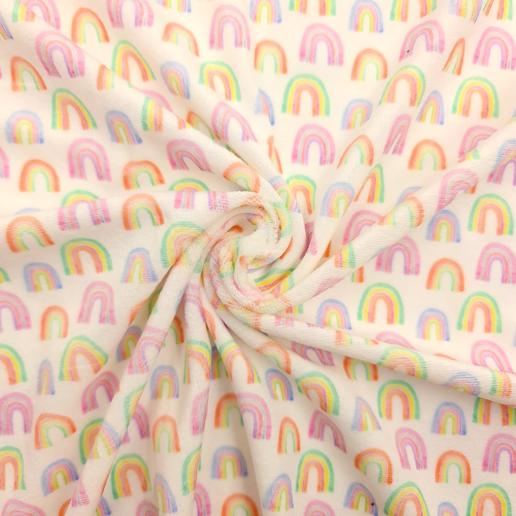 Watercolour Rainbows Artisan Velvet - Jolif The Craft Shop