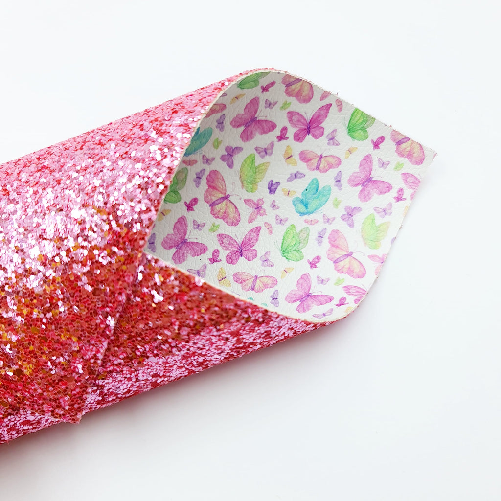 Hi Butterfly Double Sided Chunky Glitter - Jolif The Craft Shop