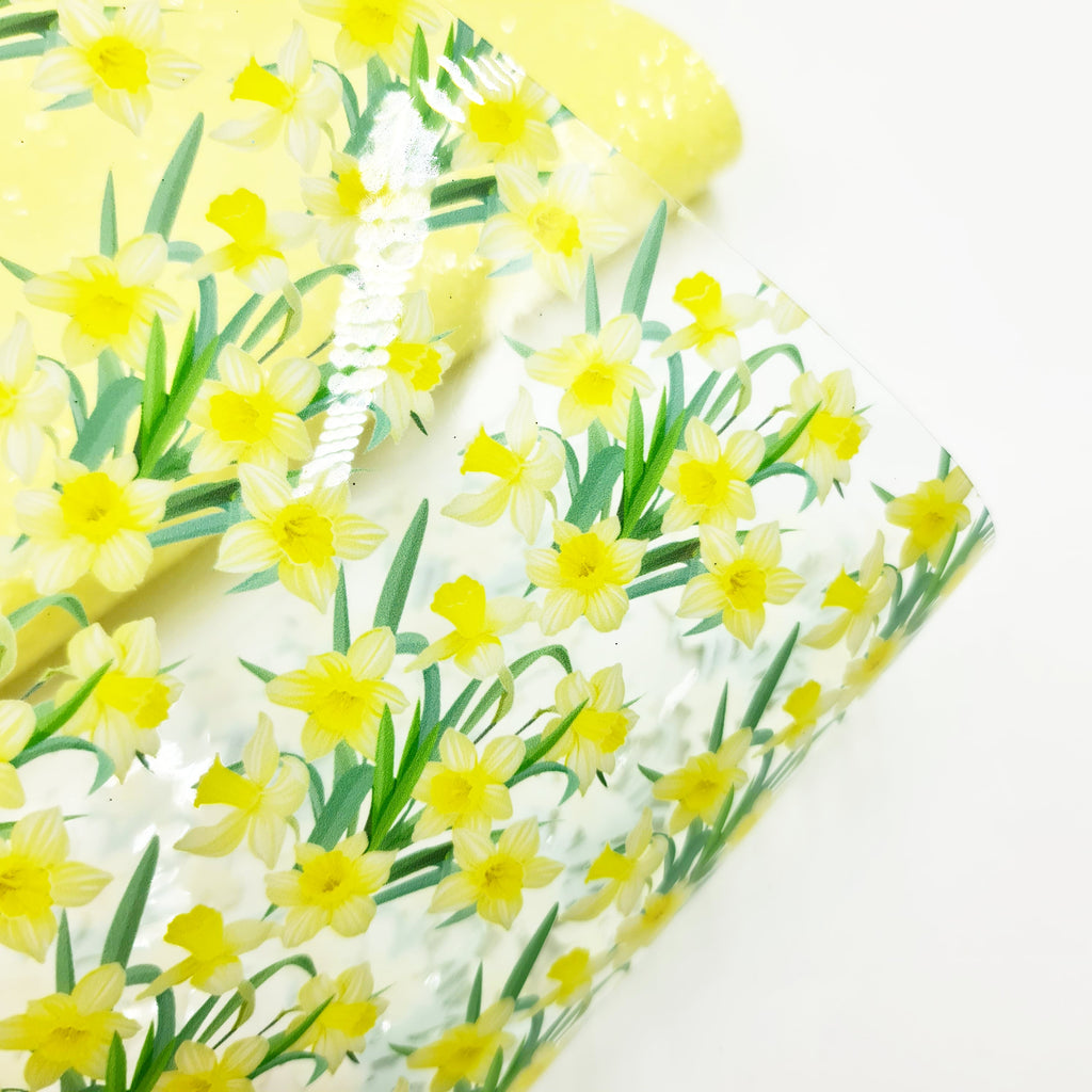 Daffodil Transparent Vinyl - Jolif The Craft Shop