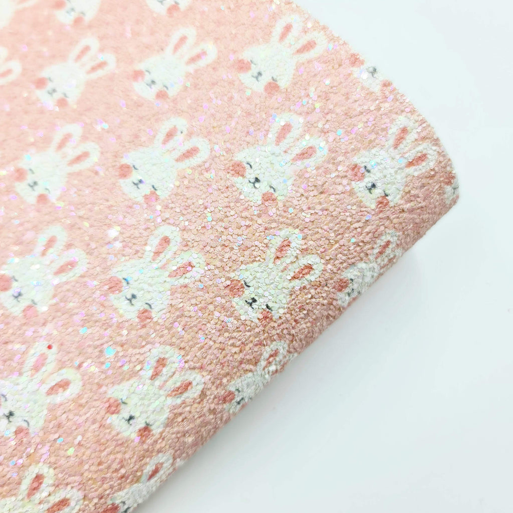 Mini Sheet Cute Bunny Chunky Glitter - Jolif The Craft Shop