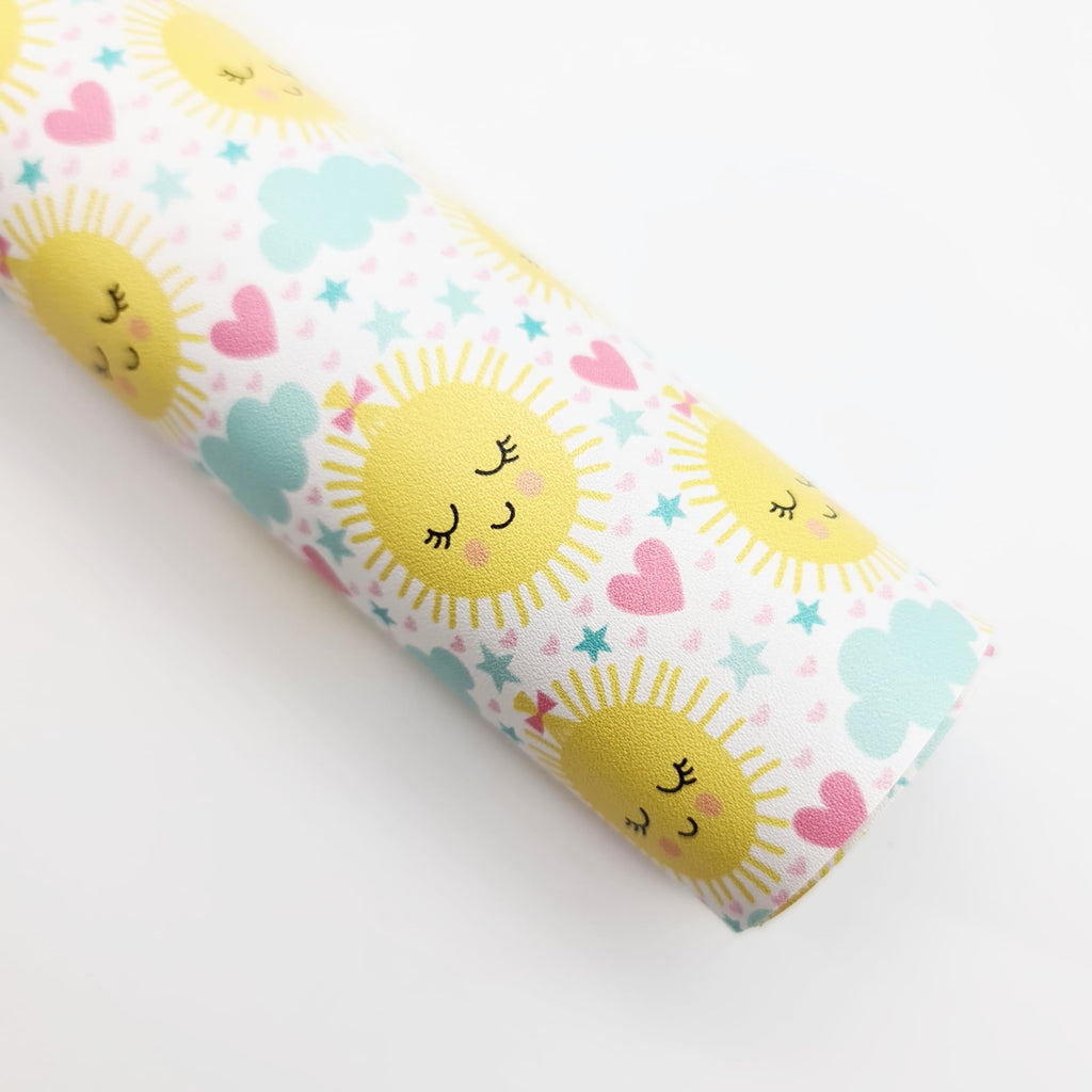 Little Miss Sunshine Artisan Leatherette - Jolif The Craft Shop