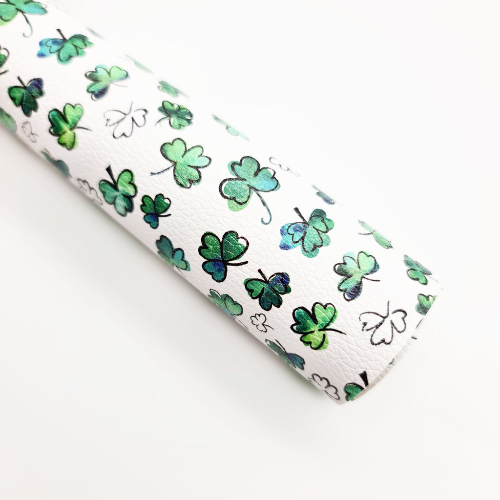 Shamrock Litchi Leatherette - Jolif The Craft Shop