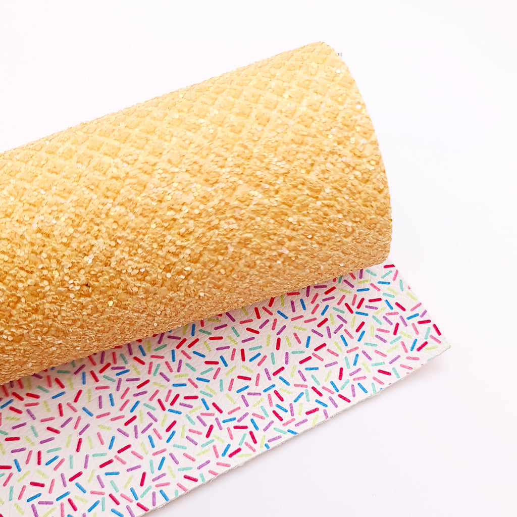 ice-Cream Double Sided Chunky Glitter - Jolif The Craft Shop