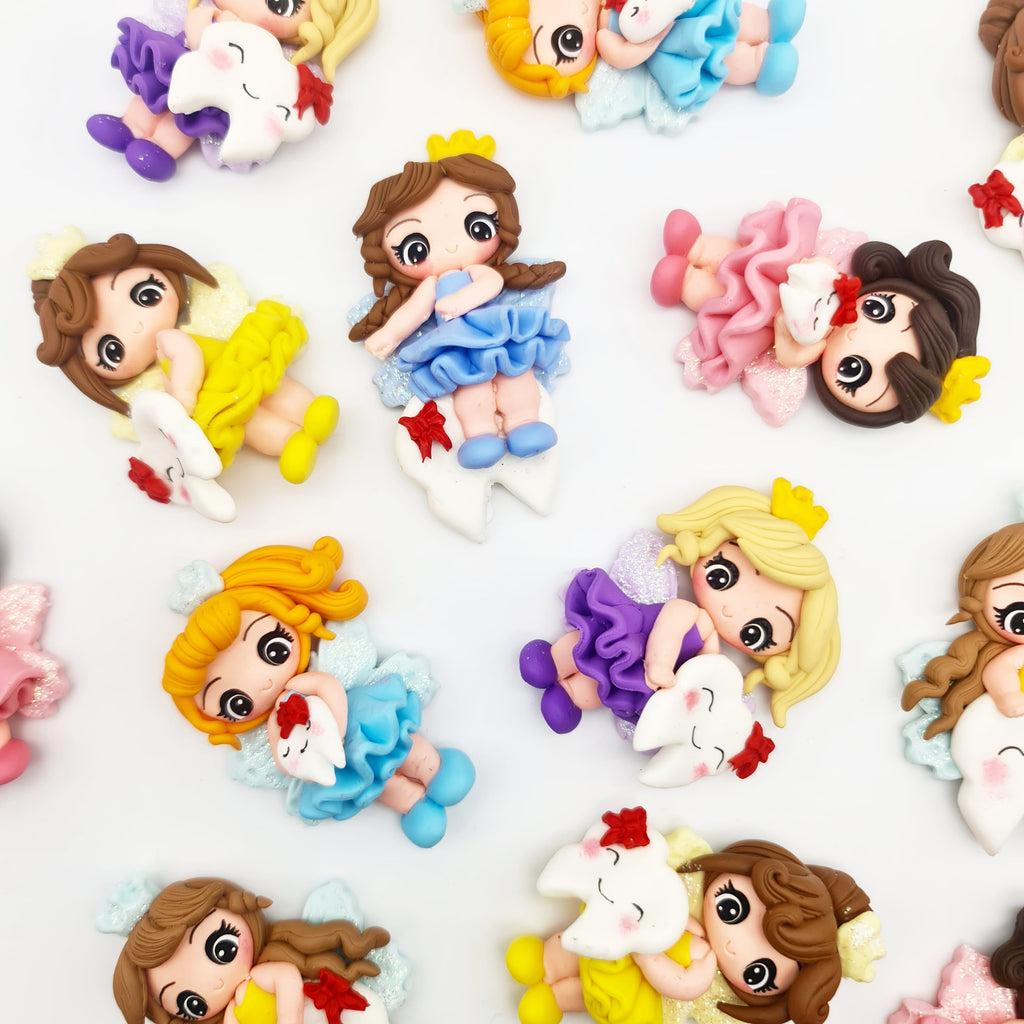 Tooth Fairy Clay Dolls - Jolif The Craft Shop