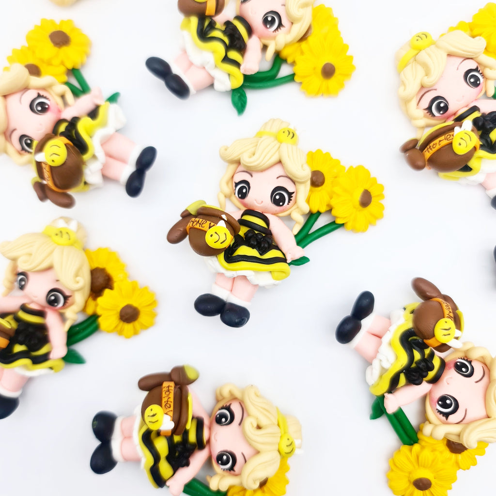 Sweet as Honey (blonde) Clay Dolls - Jolif The Craft Shop