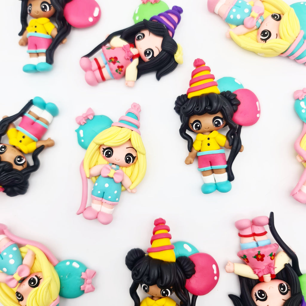 It's My Party Clay Dolls - Jolif The Craft Shop