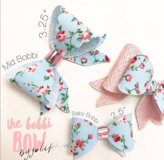 The Bobbi Bow by Jolif Die - Two Sizes on one die! - Jolif The Craft Shop