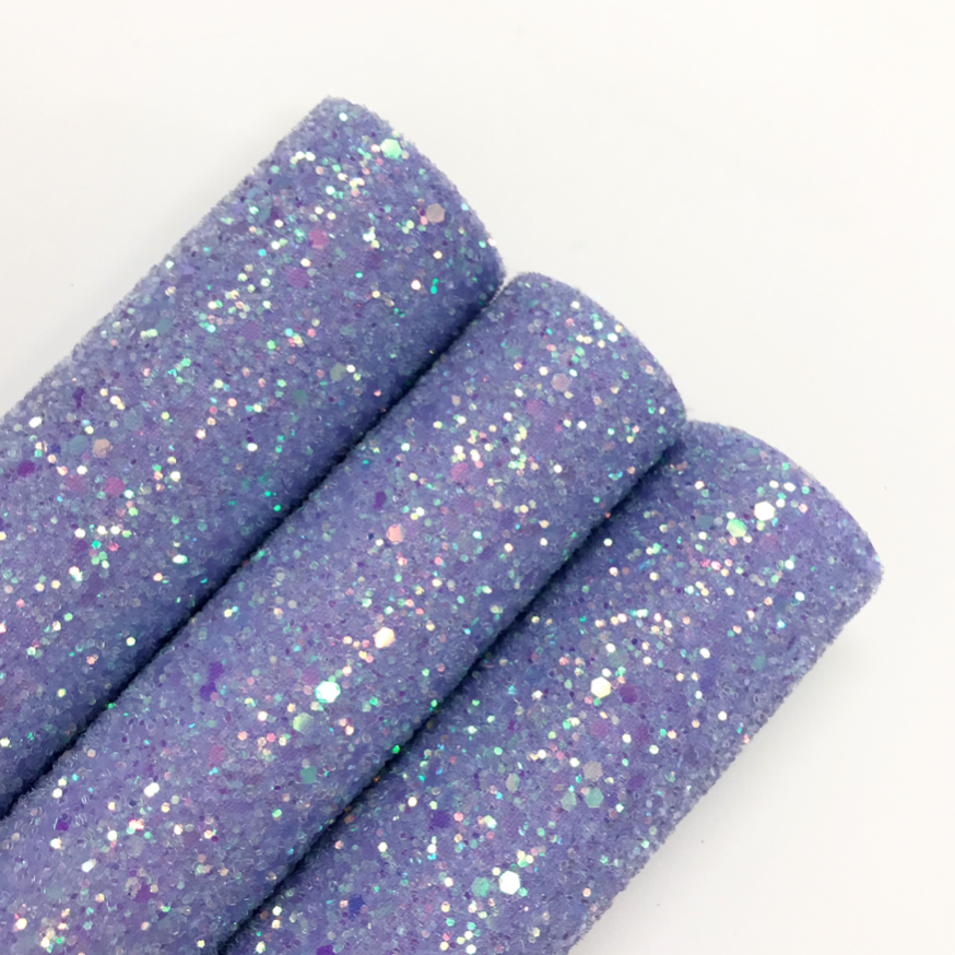 Pale Lavender Chunky Glitter