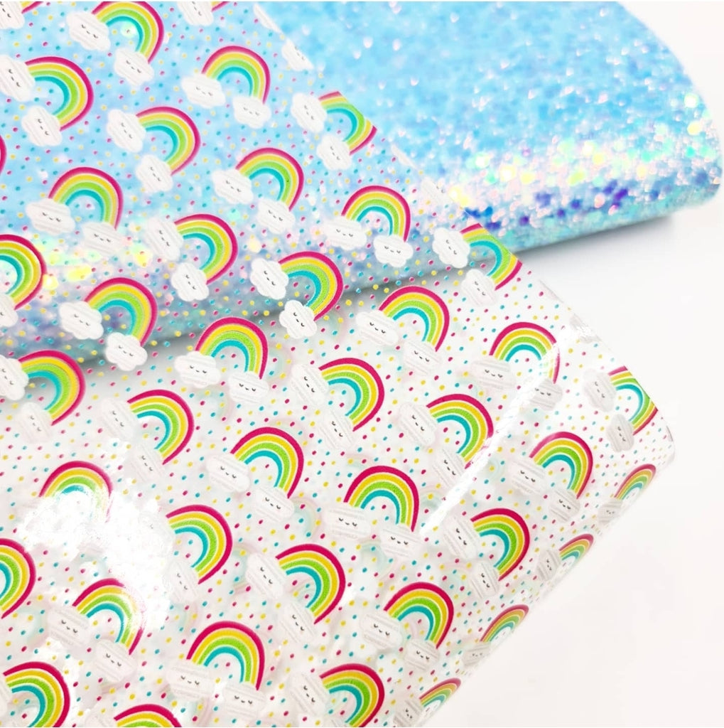 True Rainbow Transparent Vinyl - Jolif The Craft Shop