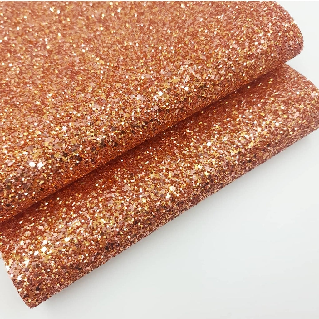 Copper Rose Chunky Glitter - Jolif The Craft Shop