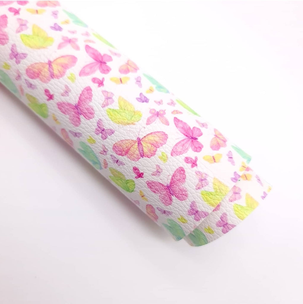 Hi Butterfly Litchi Leatherette - Jolif The Craft Shop