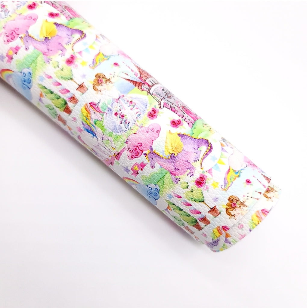 Fairy Tales Litchi Leatherette - Jolif The Craft Shop