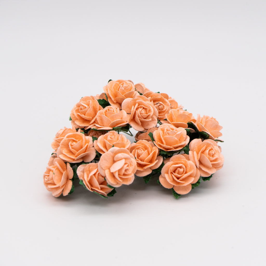 Peach Puff Mulberry Flowers - Jolif The Craft Shop