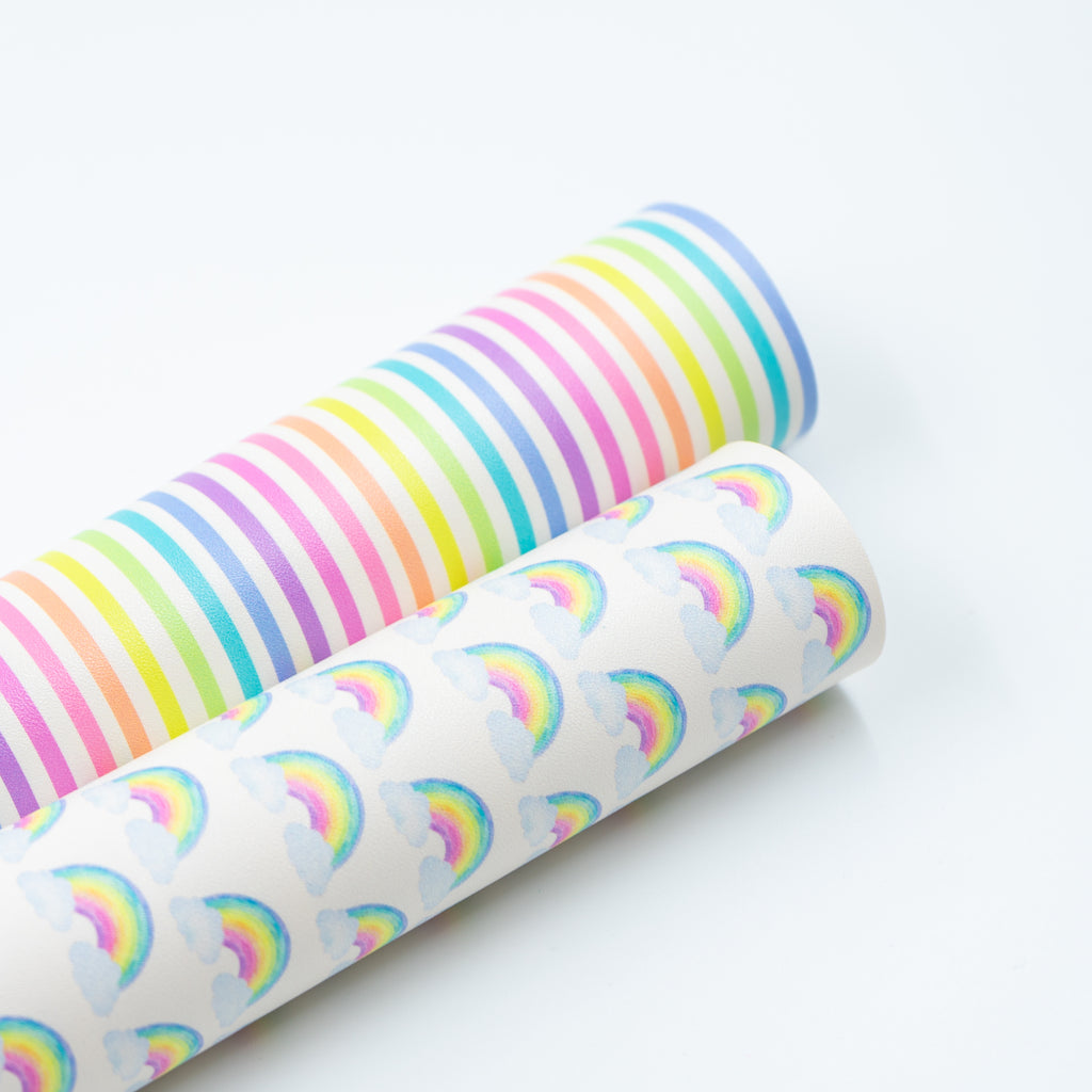 Rainbow Rainbow Artisan Leatherette - Jolif The Craft Shop