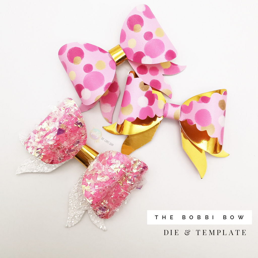 The Bobbi Bow by Jolif Template - Jolif The Craft Shop