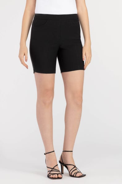Pull-on Short Black