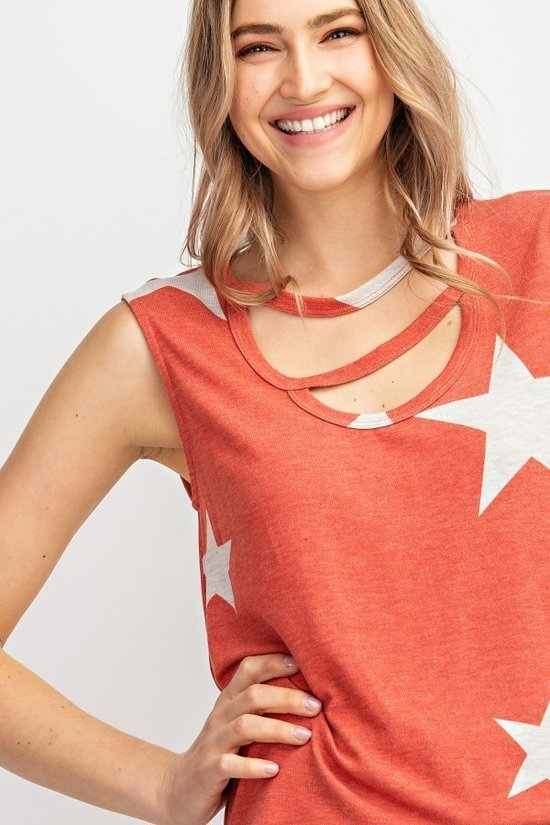 Bold Star Cutout 2 colors
