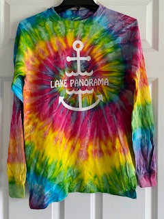 Tie-Dye Long Slv T-Shirt