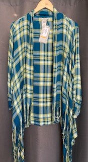 Plaid Twill Jacket