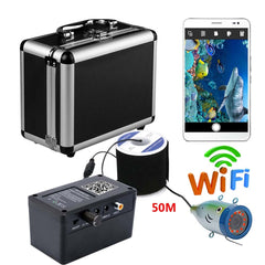 WIFI Underwater Fishing Camera / Video Recorder, Cable & Storage Case