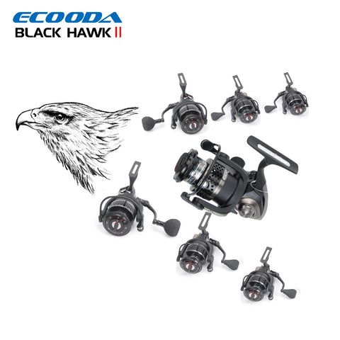 ECOODA Black Hawk II  Saltwater/Freshwater Boat Rock Bass Lure Jigging Fishing Reel