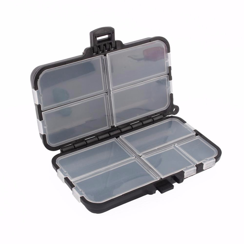 High Quality Durable 9 Compartments Plastic Container for Tackle