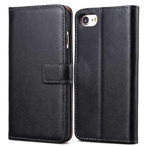 Wallet Flip Style Leather Case For iPhone 7/8