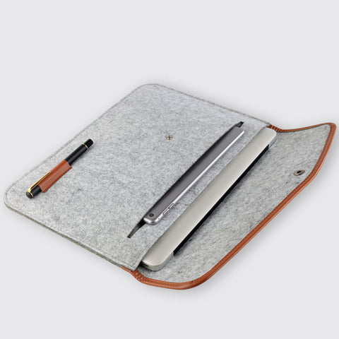 "High Quality Protective Case Wool Felt Sleeve Bag for 11"" 13"" 15"" Laptops/Notebooks"