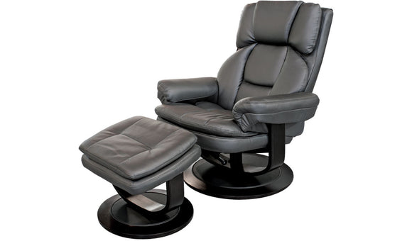 Atlas Chair - Black Leather look PU