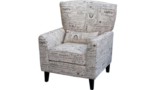 Monique Chair - Newspaper