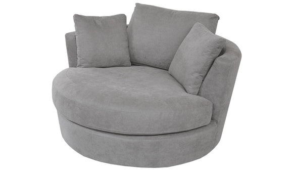 Tempo Swivel Chair - Storm