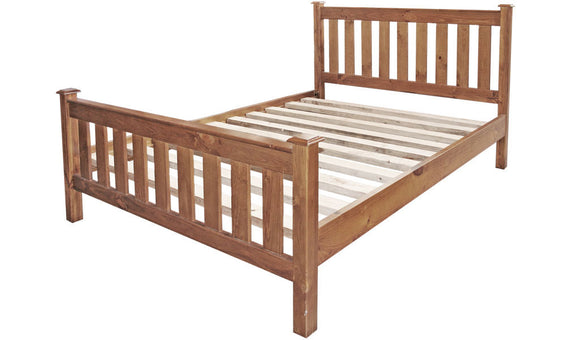 Jessica Queen Slat Bed