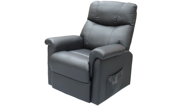 Trent Lifter Chair - Black PU