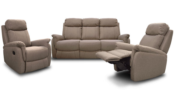 Cambridge Recliner Suite - 3RR (Hay)